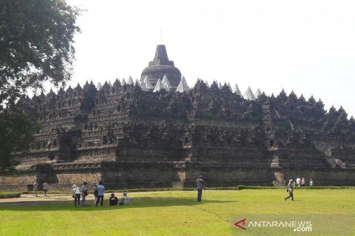 Candi Borobudur pun ditutup sementara pada 8-17 Mei 2021