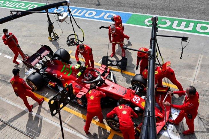 Formula 1: Sainz akui belum temukan limit Ferrari