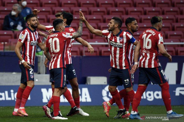Atletico  pertahankan puncak klasemen Liga Spanyol