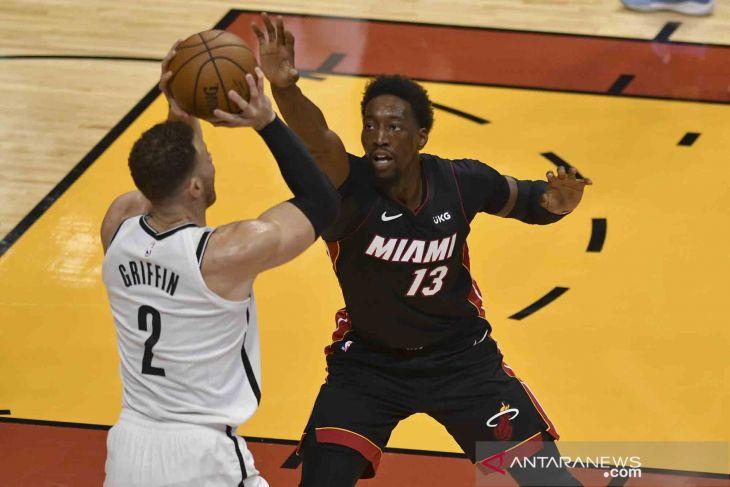 Ringkasan NBA: Bam Adebayo bawa Heat hajar Nets
