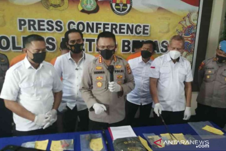 Empat pelaku spesialis ganjal ATM di Bekasi diringkus polisi