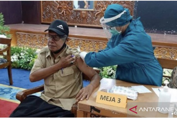 Pegawai Pemprov Kaltim jalani vaksinasi tahap ke-2