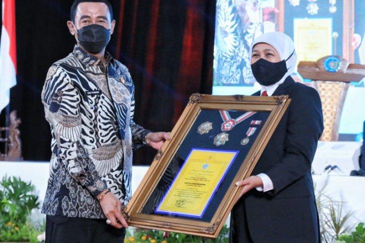 Kuliah umum di IPDN, Gubernur Jatim paparkan pemulihan ekonomi dan penanganan COVID-19
