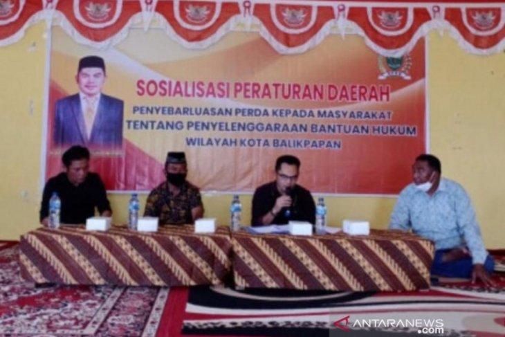 Hasan Mas'ud sosialisasikan Perda Bantuan Hukum