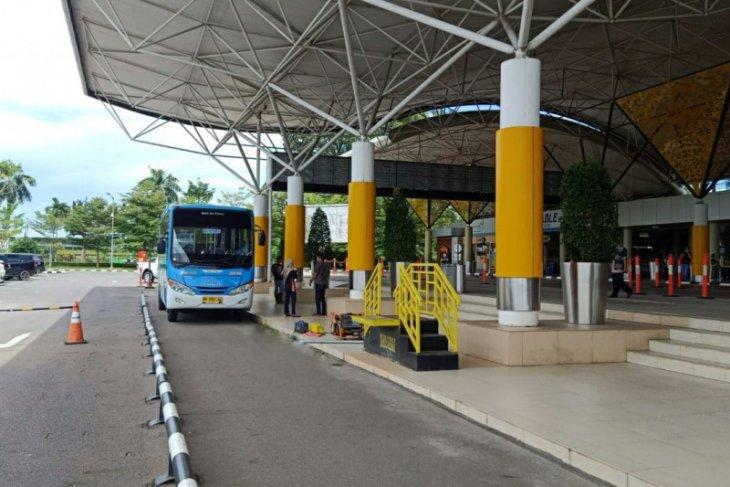 Mulai Kamis (22/4), armada bus Trans Siginjai masuk Bandara Sultan Thaha