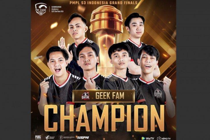 Geek Fam juarai PUBG Mobile Pro League Indonesia Season 3