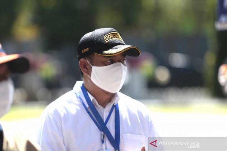Pemkab Bone Bolango minta pedagang tetap patuh dengan protokol kesehatan