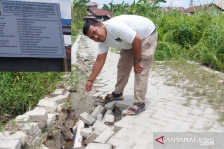 KNPI temukan dugaan penyimpangan proyek peningkatan pemukiman kumuh di Tanjungbalai
