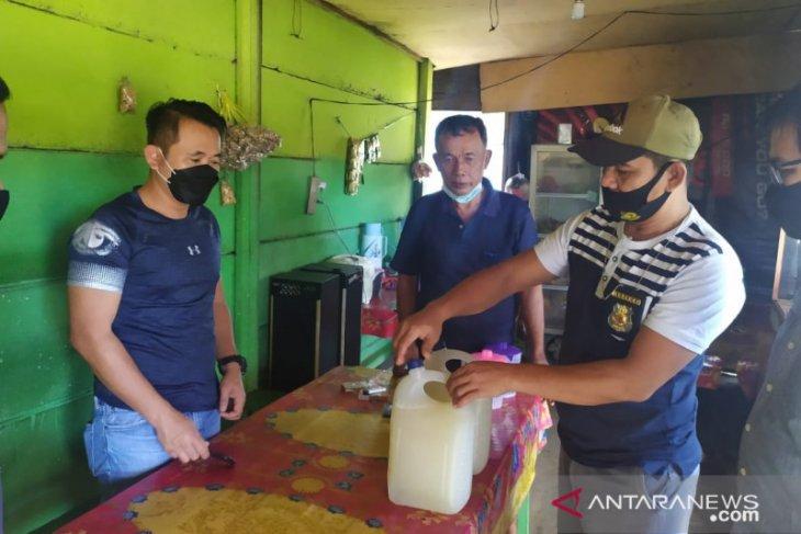 Tim Pekat Polda Jambi amankan enam juru parkir liar dan sisir penjual minuman keras