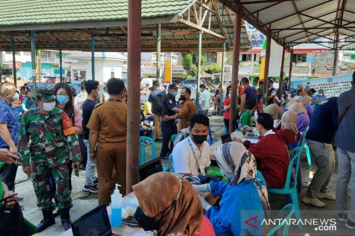 Pemkot Jambi menggelar vaksinasi pekerja sektor transportasi