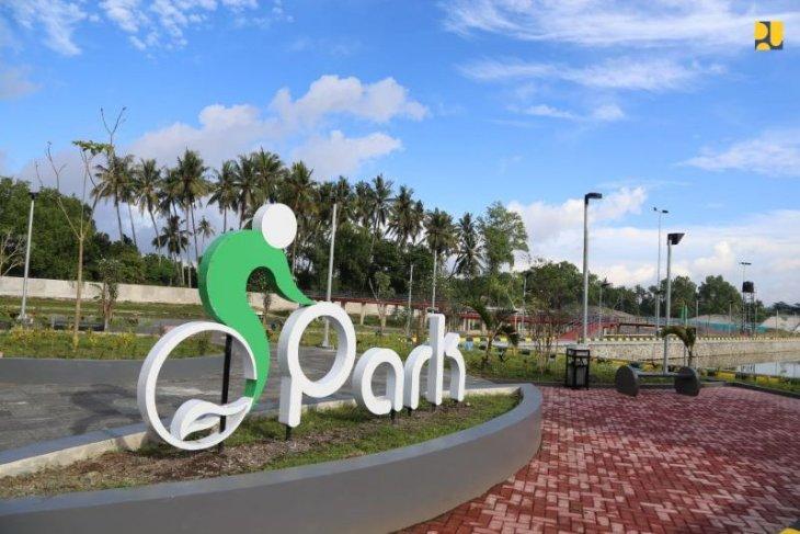 Kementerian PUPR tuntaskan  penataan Taman Bersepeda Mandalika Lombok