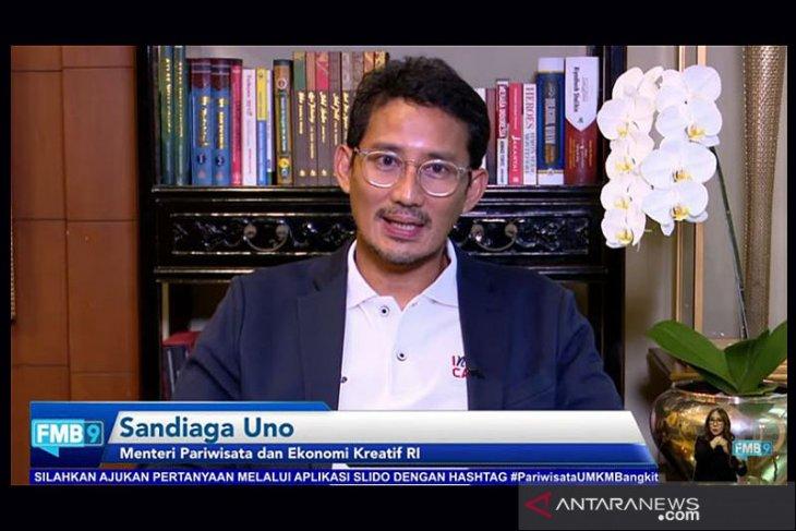 Sandiaga: Indonesia ke-3 yang ekonomi kreatifnya sumbang PDB