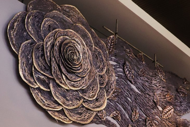 Sutera Agung tempatkan karya seni Nyoman Nuarta di Saumata Suites