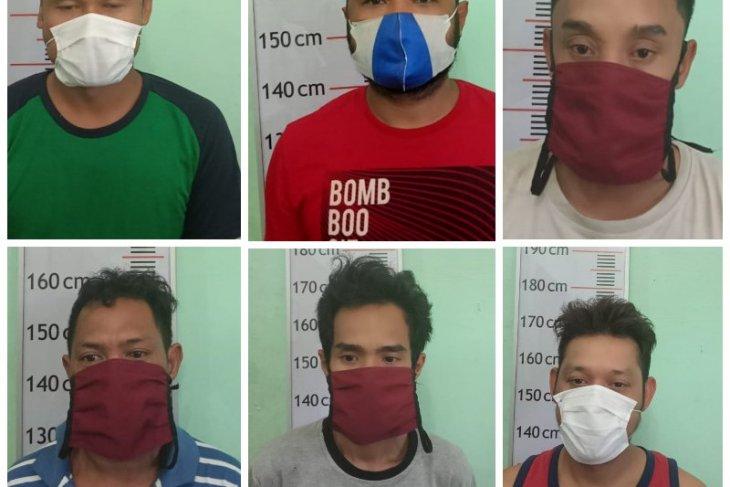 Enam warga Tanjung Pura ditangkap karena miliki sabu-sabu