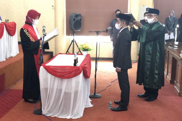 Hanil Tamjid jabat Wakil Ketua II DPRD Balangan