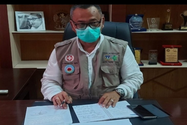 Kepala Dinas Tebing Tinggi  positif COVID-19