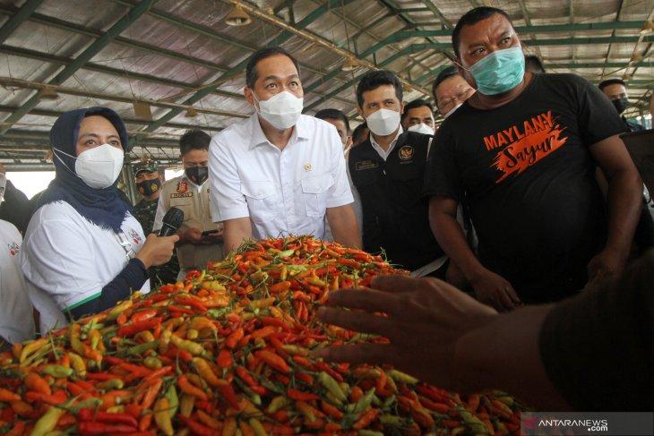 Kunjungan Menteri Perdagangan di Surabaya