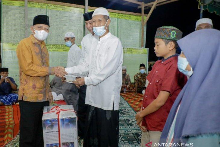 Tim safari ramadhan, Bupati Asahan bantu pembangunan masjid Baiturrahman
