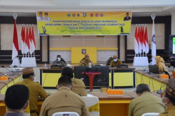 Gubernur Gorontalo minta pemda prioritaskan realisasi keuangan