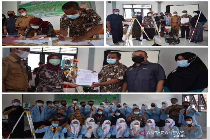 Kementan percayakan Polbangtan Medan salurkan bantuan alat praktik SMK Pertanian