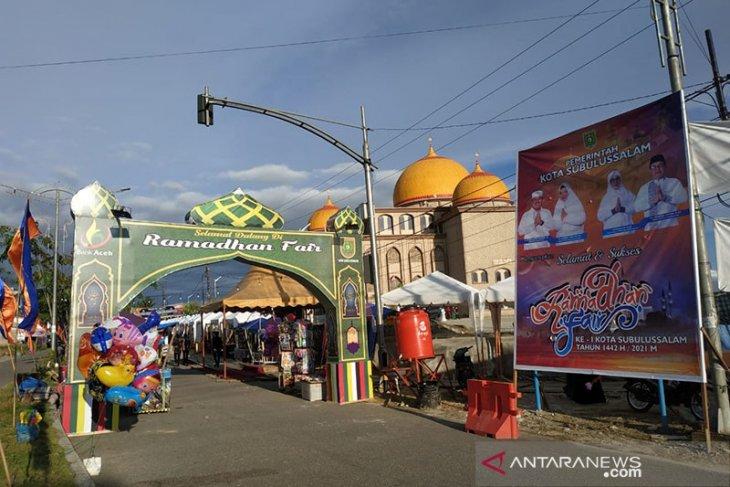 Pemkot Subulussalam gelar Ramadhan Fair, protokol kesehatan diabaikan
