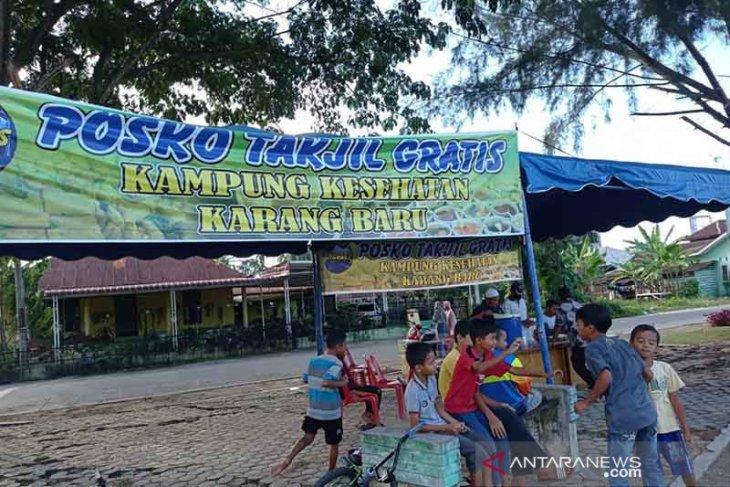 Kampung di Aceh Tamiang ini buka posko takjil gratis