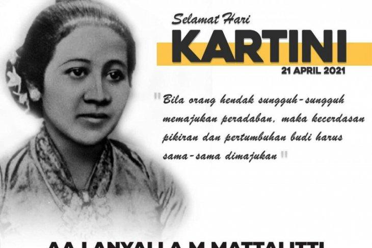 Semangat Kartini harus tetap menyala meski pandemi