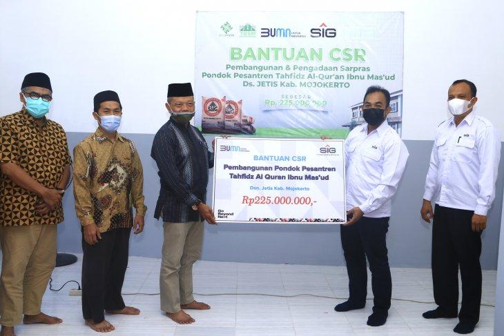 SIG bantu pembangunan Ponpes Tahfidz Al-Qur'an di Mojokerto