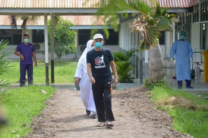 Sebanyak  114 penderita COVID-19 di Aceh sembuh, 64 kasus baru