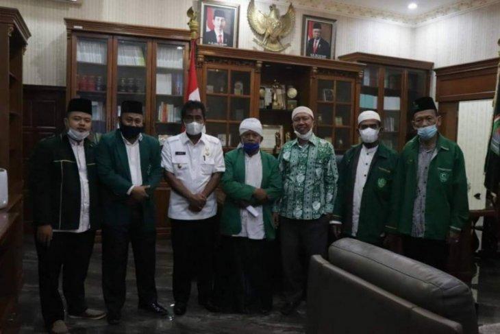 Al Washliyah Binjai silaturahmi kepada Pelaksana Wali Kota