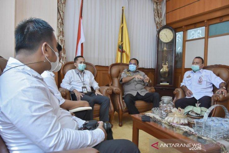 Ketua DPRD dan Ombudsman bicarakan bangun Kalsel ke depan