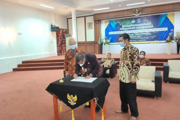 Pemkab Paser tandatangani PKS optimalisasi pajak