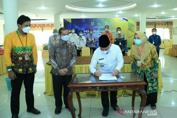 Wahid tandatangani perjanjian kerja sama optimalisasi pungutan pajak