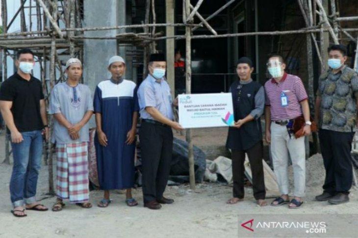 PLN Babel salurkan bantuan untuk Masjid Baitul Hikmah