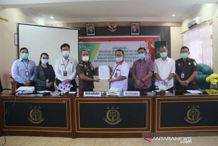 Kejaksaan Sibolga dukung penuh BP Jamsostek implementasikan inpres 02 tahun 2021