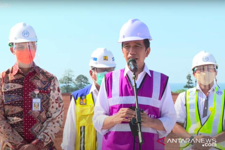 Presiden: Industri kaca terbesar Asia Tenggara dibangun di Batang