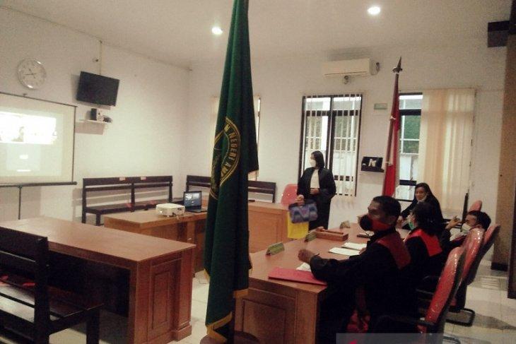 Hakim PN Ambon vonis pengguna narkoba lima tahun penjara