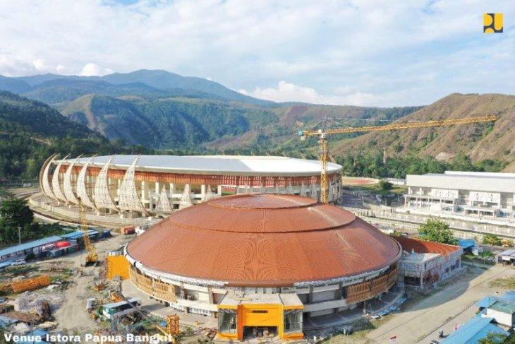 Arena olahraga PON Papua ciptakan