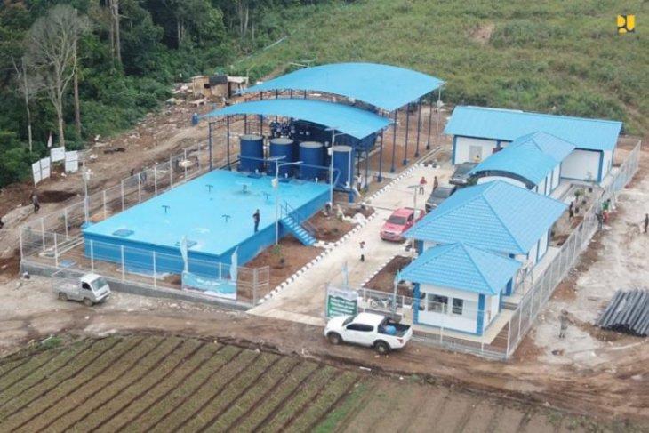 Dukung Danau Toba, PUPR rampungkan konstruksi SPAM Merek