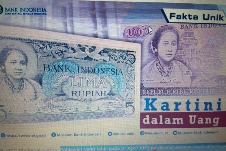 Perjalanan Kartini diabadikan Bank Indonesia dalam gambar uang rupiah
