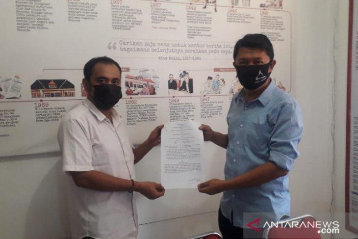 LKBN Antara-Pemkab Bangka Tengah perkuat kerja sama penyebarluasan informasi