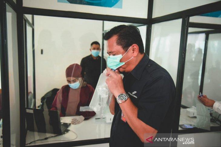Bandara Sepinggan  sediakan tes COVID-19 dengan GeNose