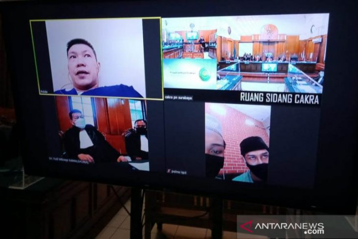 Penipuan modus bisnis perumahan fiktif disidang di PN Surabaya