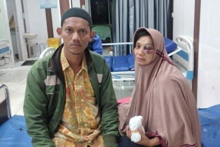 Dianiaya, wanita di Aceh Utara ini polisikan tetangga