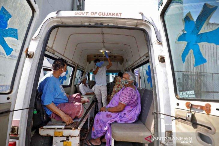 Wow, India catat rekor 314.835 kasus baru COVID-19 dalam sehari