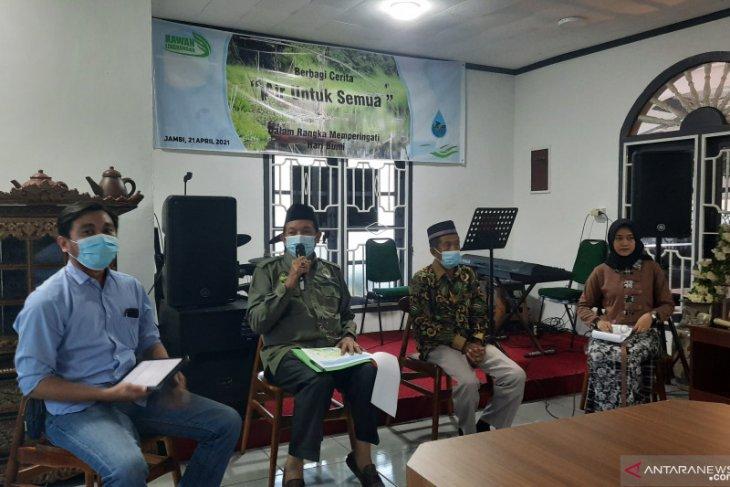 Forum DAS Jambi tegaskan perlu peran komunitas untuk lestarikan lingkungan