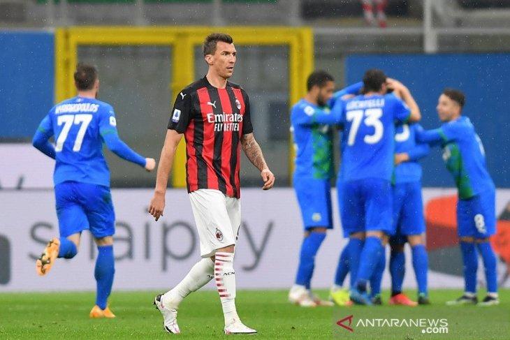 Liga Italia, Sassuolo gagalkan upaya Milan dekati puncak