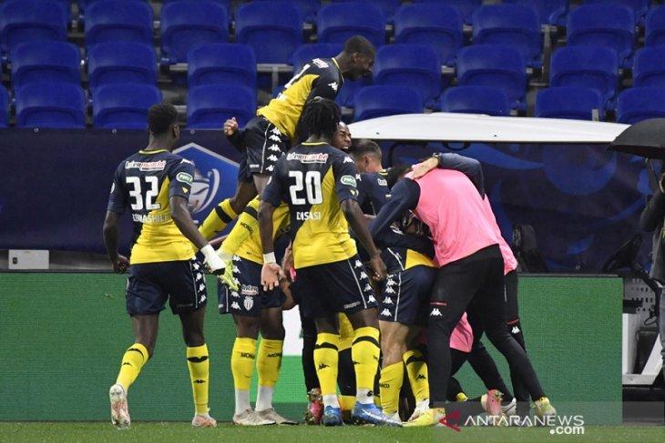 Monaco singkirkan Lyon demi menuju semifinal Piala Prancis