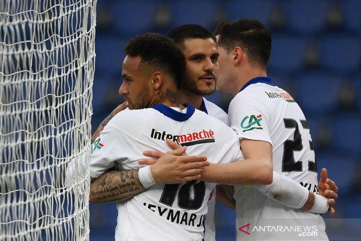 PSG melenggang ke semifinal Piala Prancis seusai gulung Angers