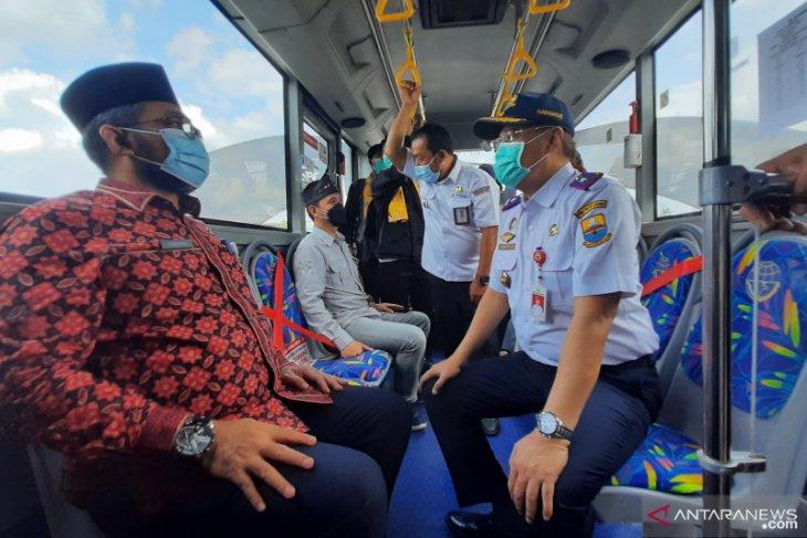 Halte Trans Siginjai resmi beroperasi di Bandara Sultan Thaha Jambi